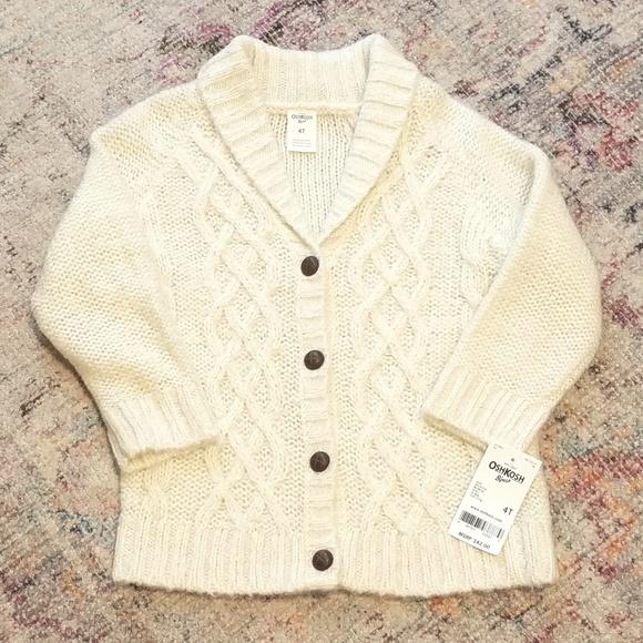 OshKosh B'gosh Other - Oshkosh Sweater Cardigan - 4T